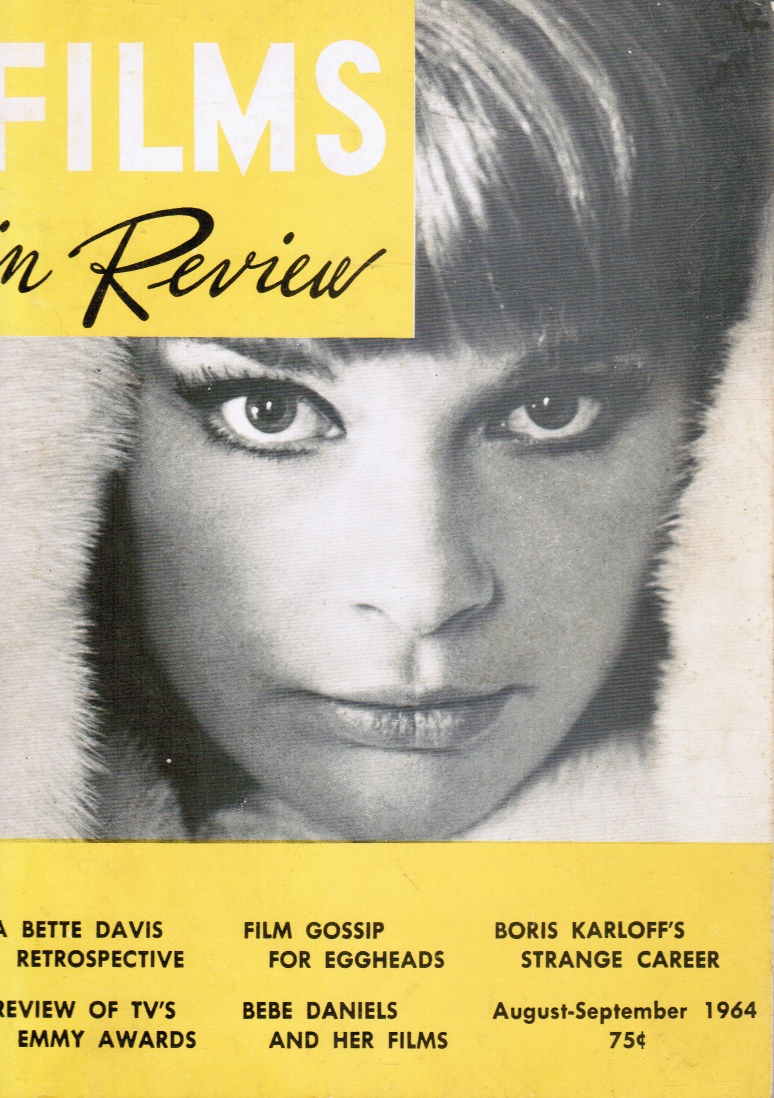 Image for Films in Review: August-September 1964  (Elke Sommer, Cover)