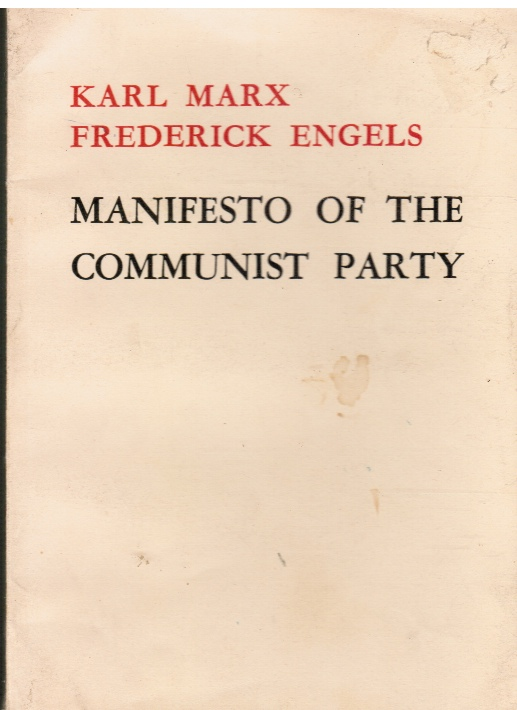 Image for Manifesto of the Communist Party