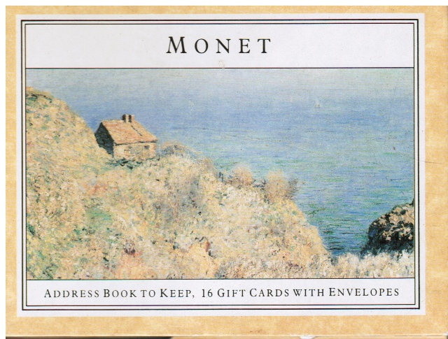 Image for Monet (Address Book)