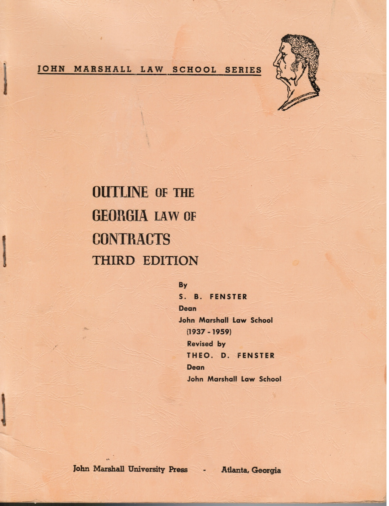 Image for Outline of the Georgia Law of Contracts