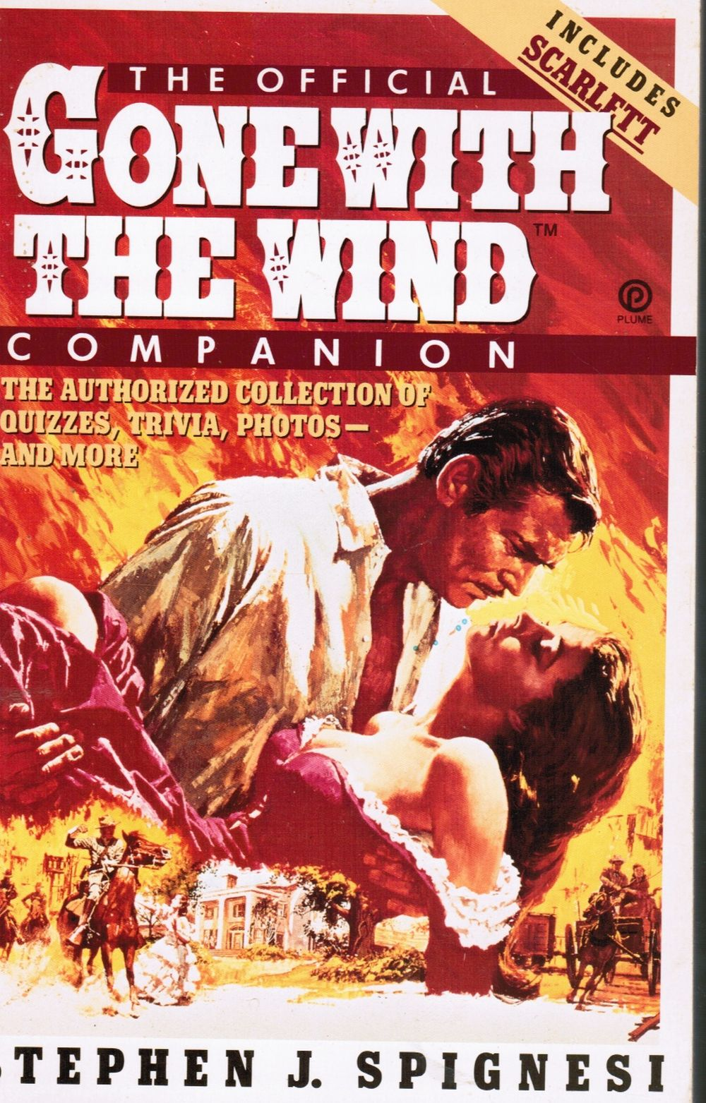 Image for The Official Gone with the Wind Companion: the Authorized Collection of Quizzes, Trivia, Photos--And More