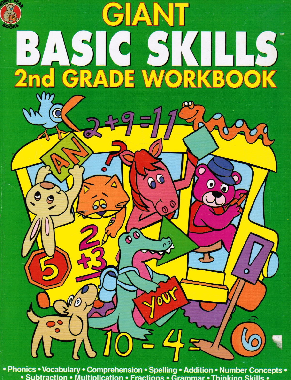 Image for Giant Basic Skills: 2nd Grade Workbook