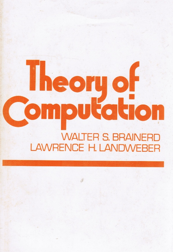 Image for Theory of Computation