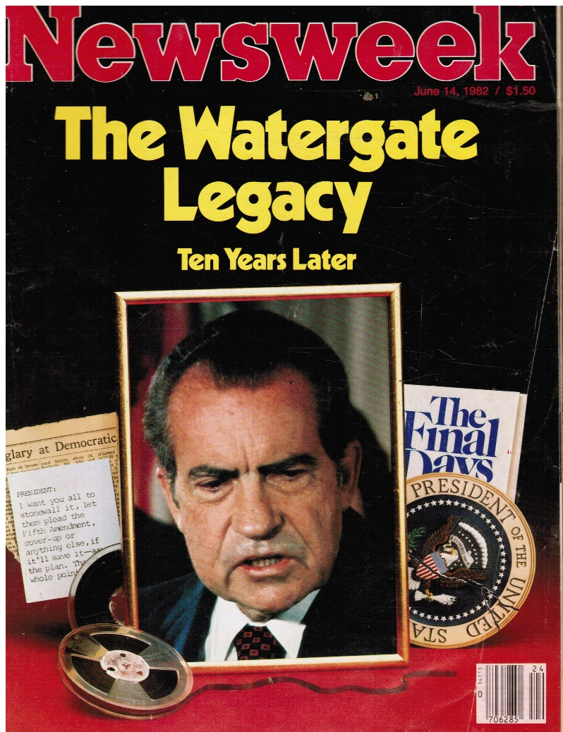 Image for Newsweek June 14, 1982 (The Watergate Legacy, Ten Years Later)