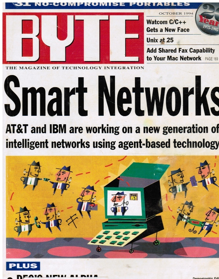 Image for BYTE Magazine October 1984 Smart Networks