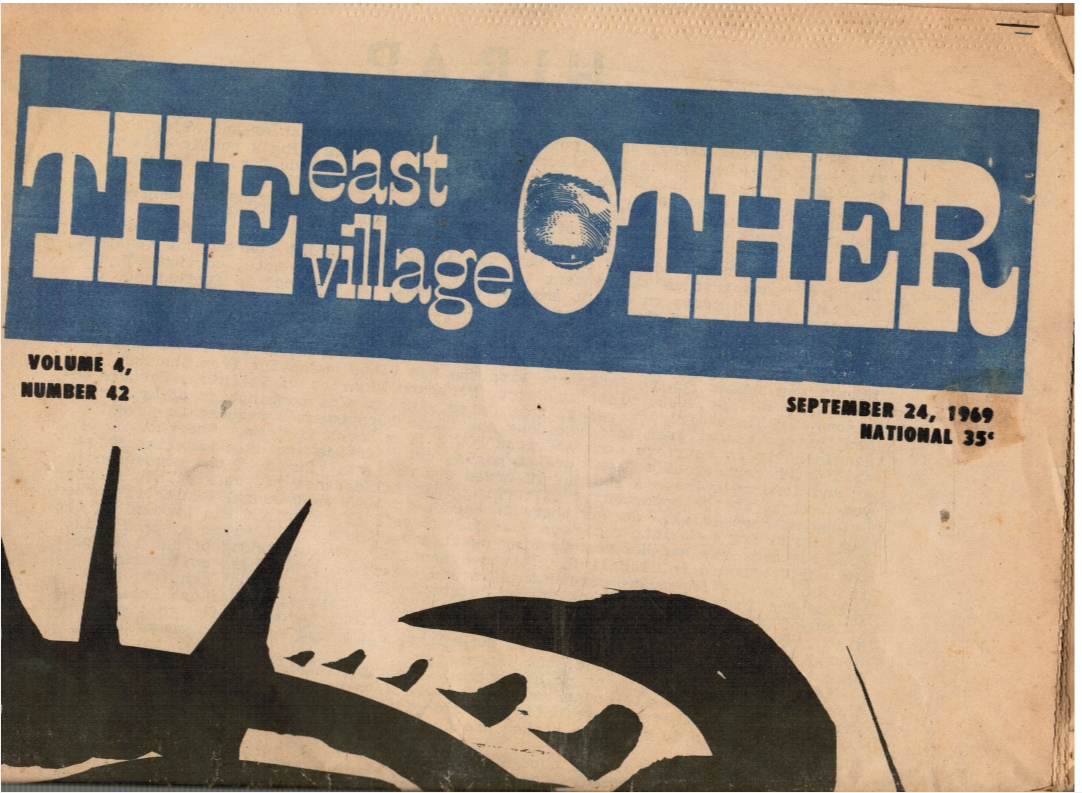 Image for The East Village Other: September 24, 1969 Uruguay, Freak Brothers, Claudia Dreifus