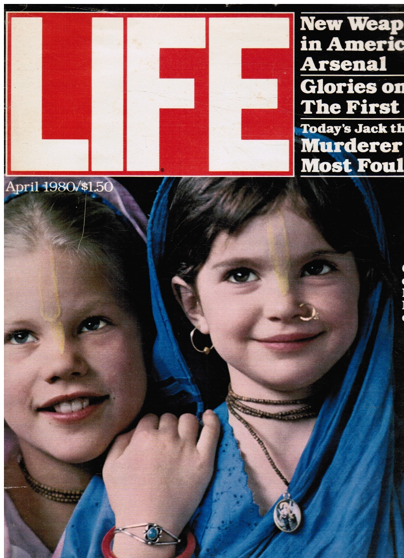 Image for Life Magazine April 1980 - Cover: Children of a Hare Krishna Commune