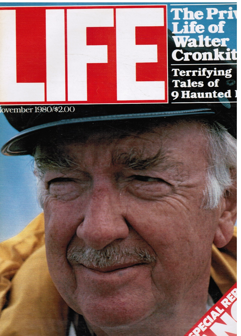 Image for Life Magazine November 1980 - Walter Cronkite, Cover