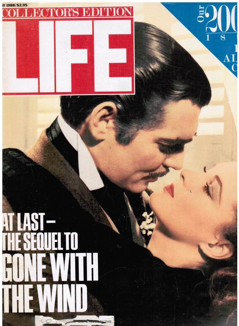 Image for Life Magazine (May 1988) - 2000th Issue (All Covers Shown Inside) Scarlett & Rhett, Gone with the Wind (Cover)