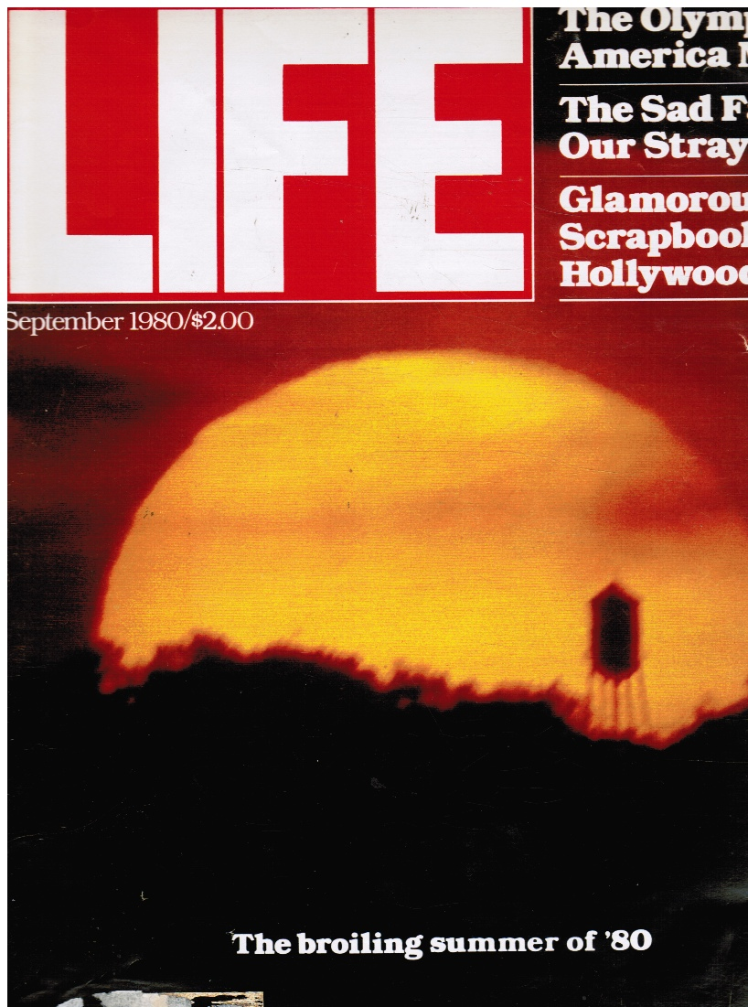 Image for LIFE Magazine - September 1980 The Broiling Summer of '80 (Cover)