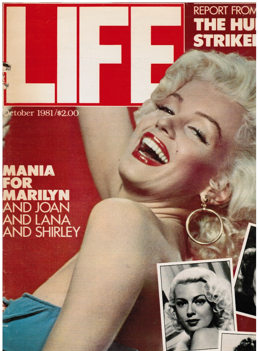 Image for LIFE Magazine October 1981 - Marilyn Monroe Cover