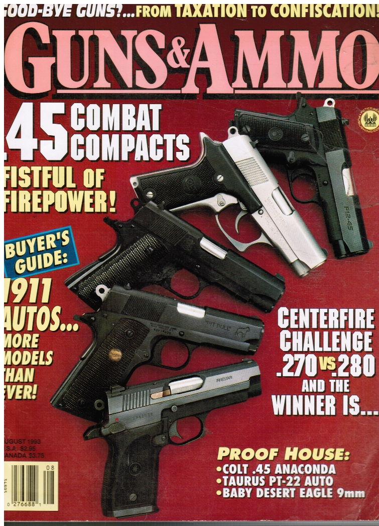 Image for Guns and Ammo August 1993