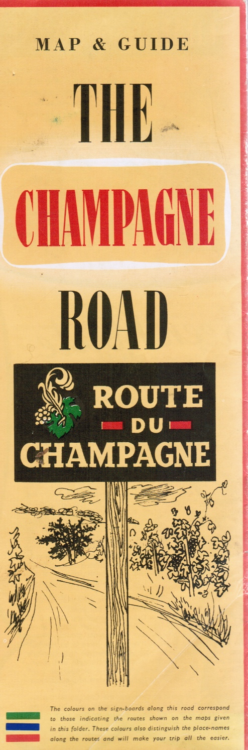 Image for The Champagne Road: Map and Guide