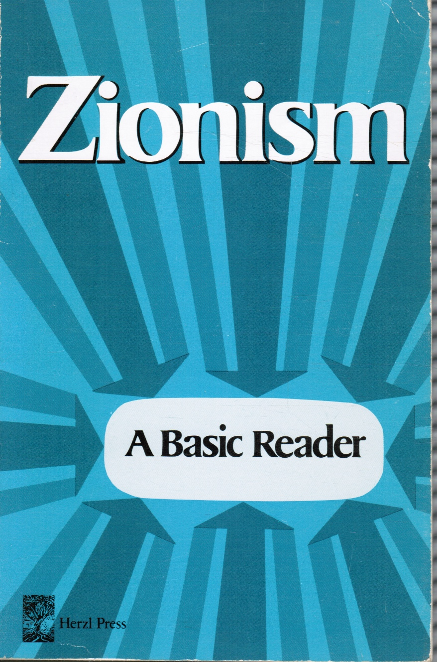 Image for Zionism: a Basic Reader