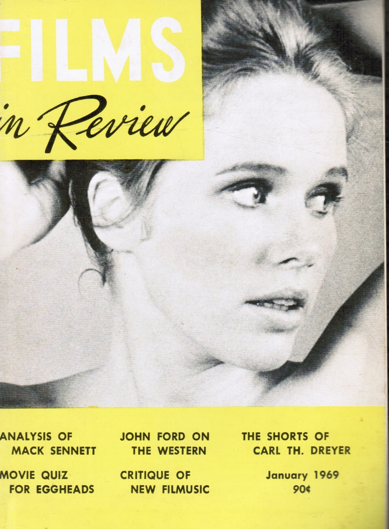 Image for Films in Review : January, 1969 LIL Ulman, Cover