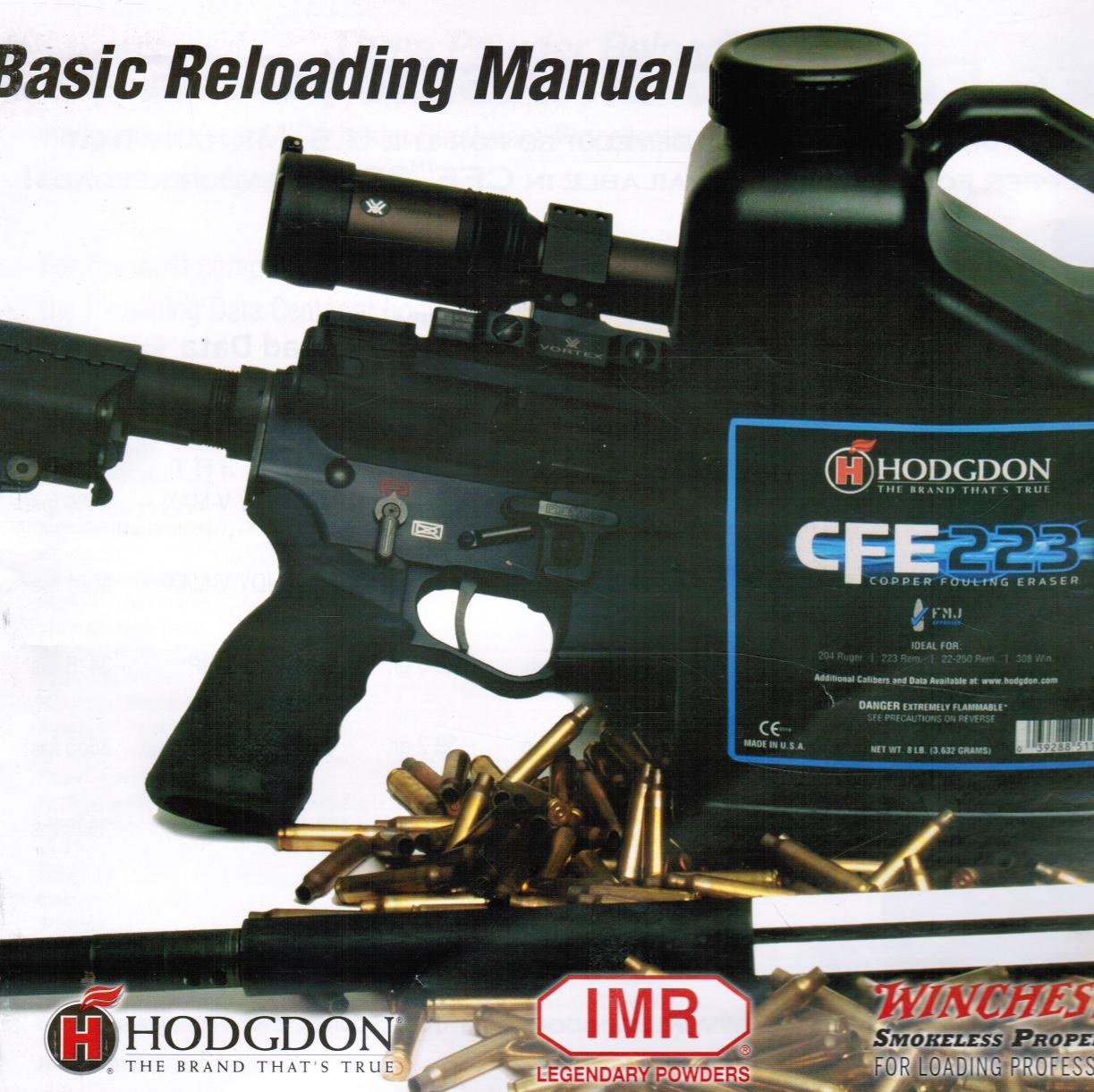 Hodgdon Basic Reloading Manual