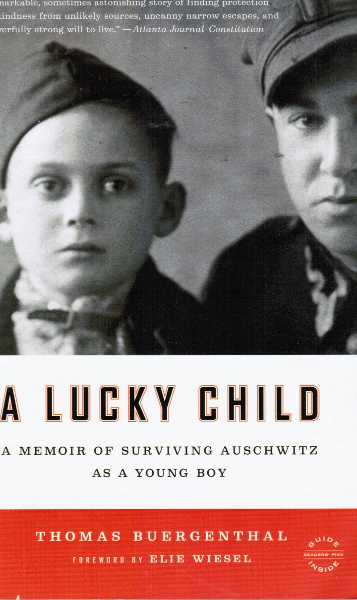 Image for A Lucky Child: a Memoir of Surviving Auschwitz As a Young Boy