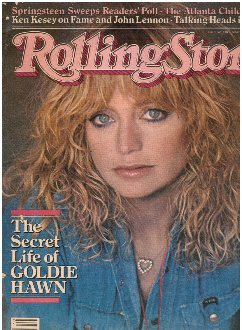 Image for Rolling Stone Magazine March 5, 1981 Issue 338 Atlanta Child Murders