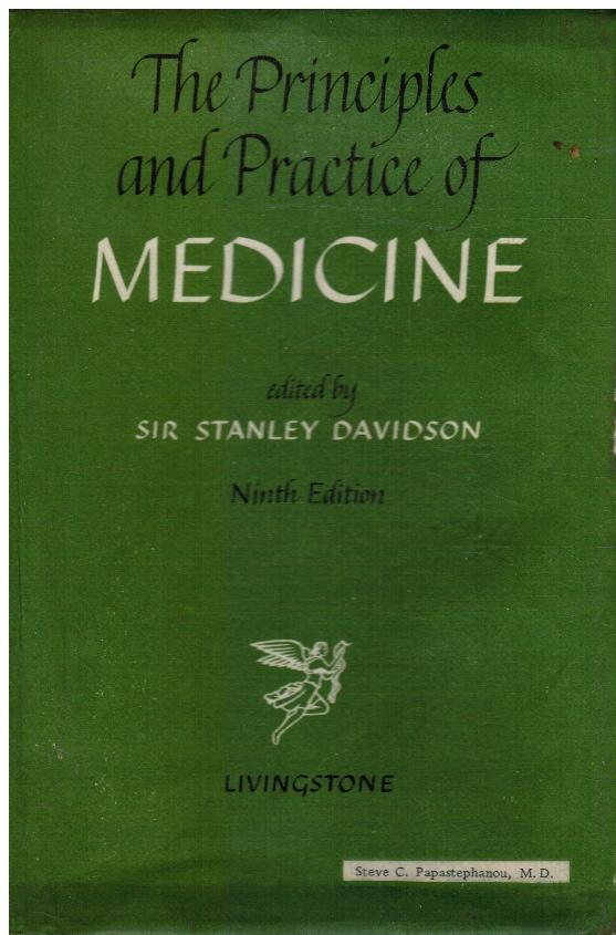 Image for The Principles and Practice of Medicine: a Textbook for Students and Doctors