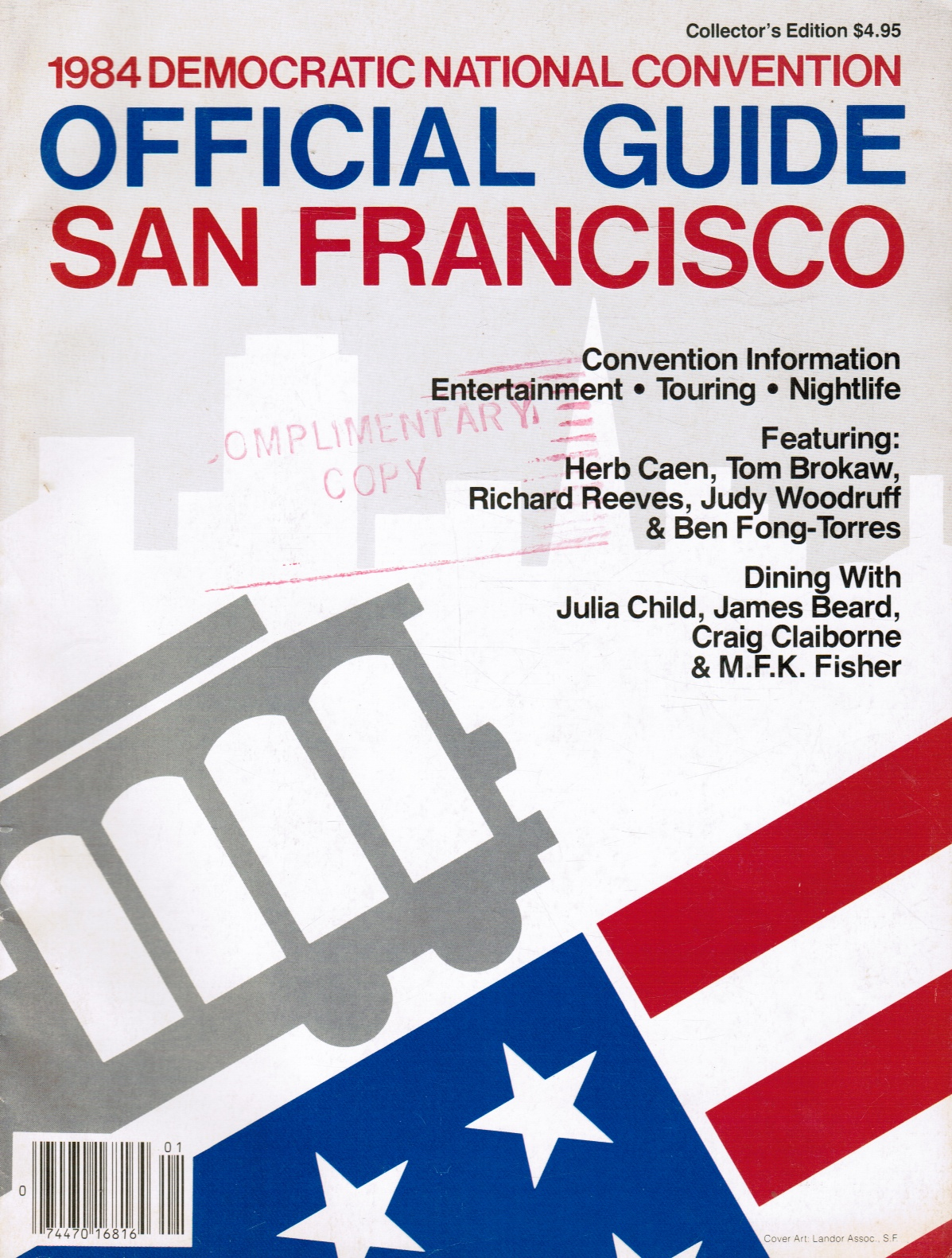 Image for 1984 Democratic National Convention: Official Guide - San Francisco