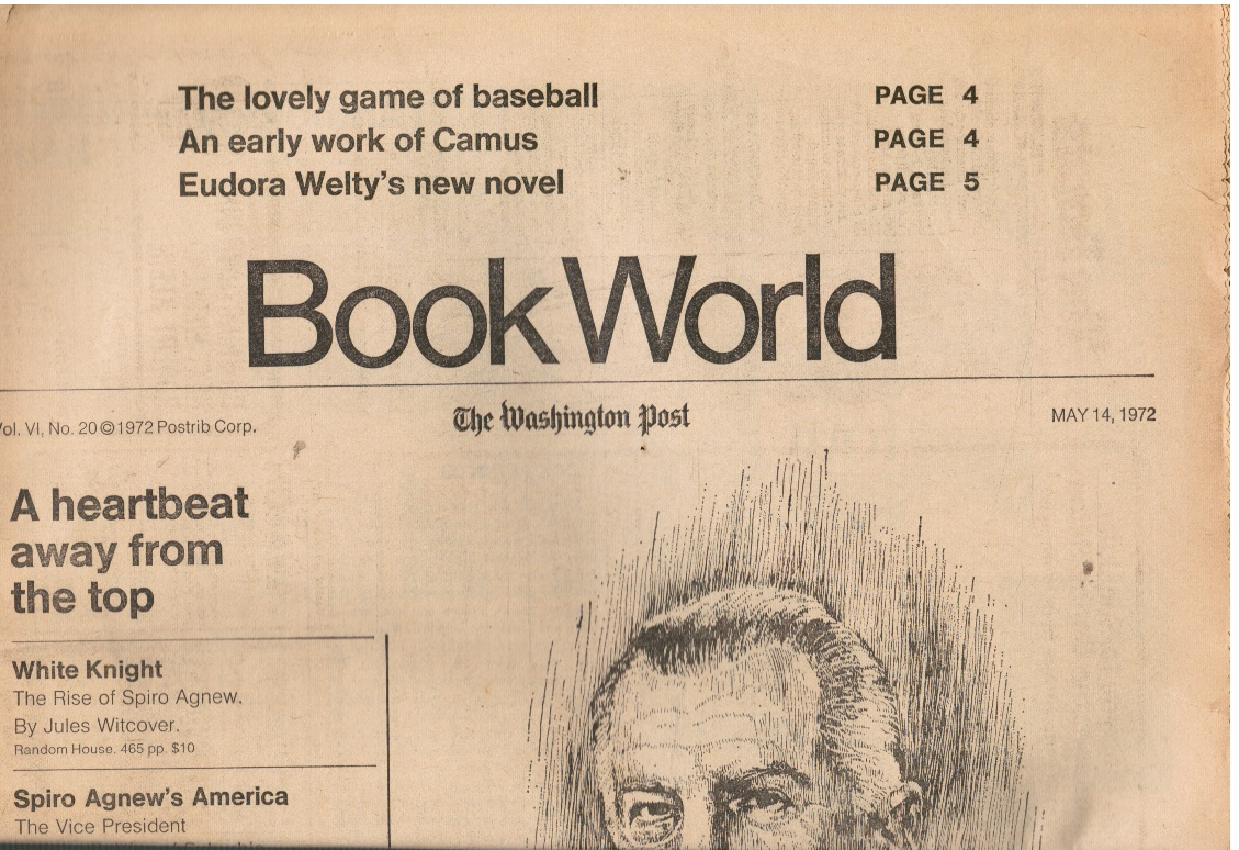 Image for 1972: Book World: the Washington Post - May 14, 1972