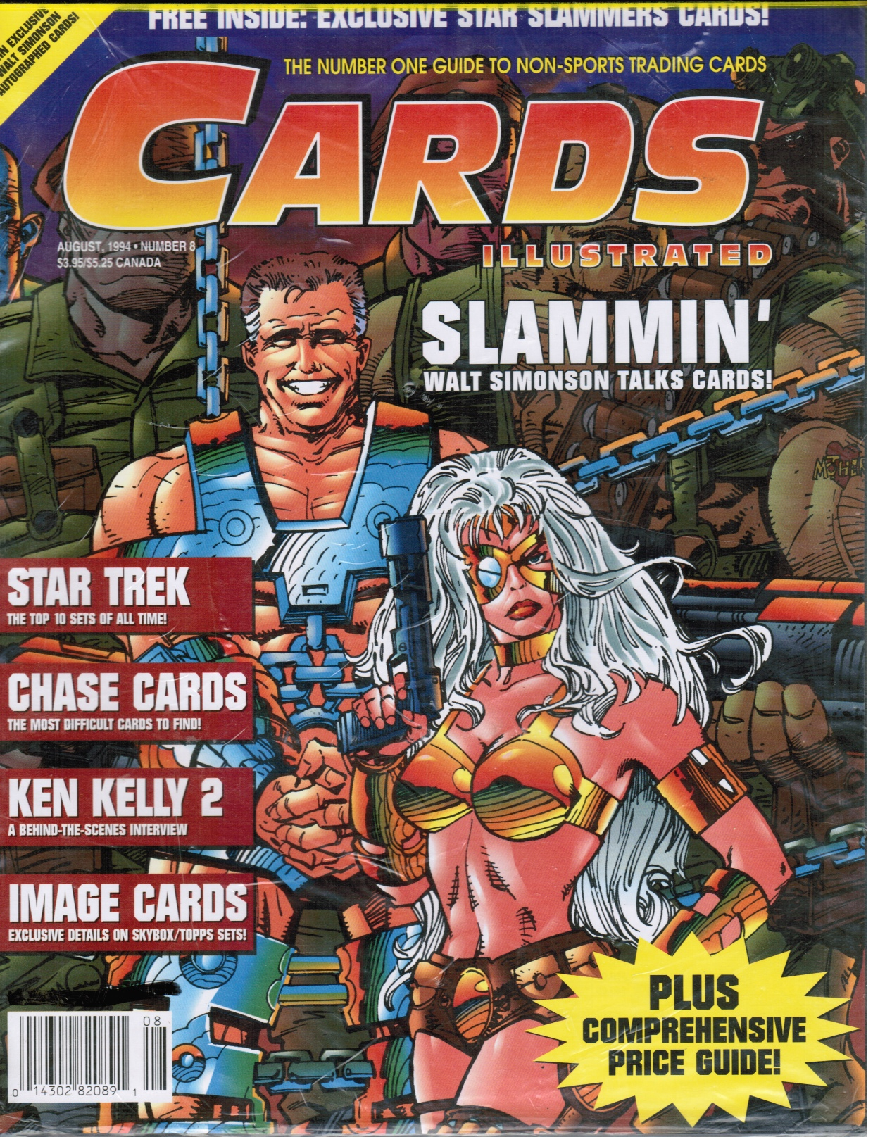Image for Cards Illustrated No.8 Aug 1994 Slammin' Walt Simonson talks cards!