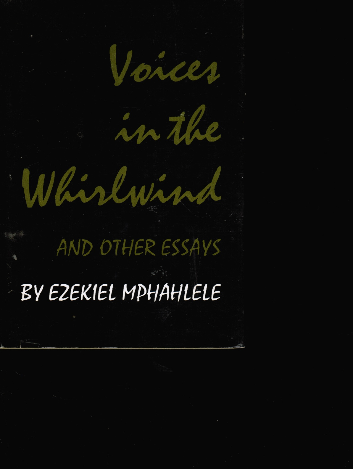 Image for Voices in the Whirlwind and Other Essays