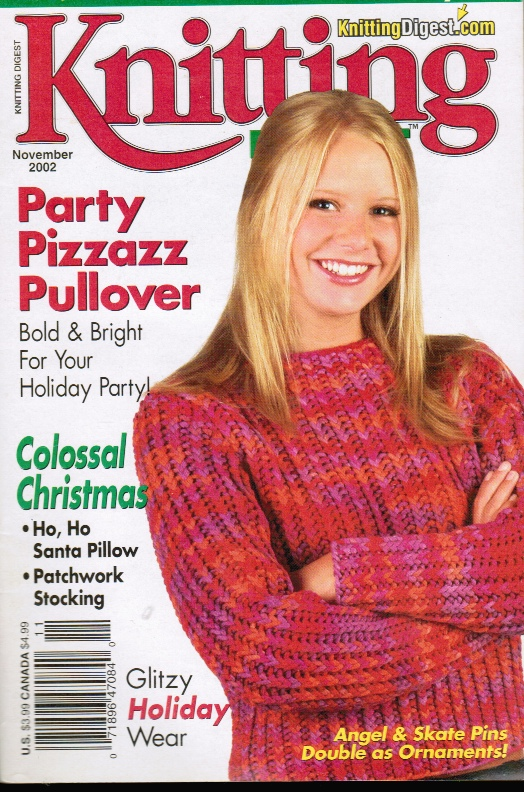 Image for Knitting Digest - November 2002