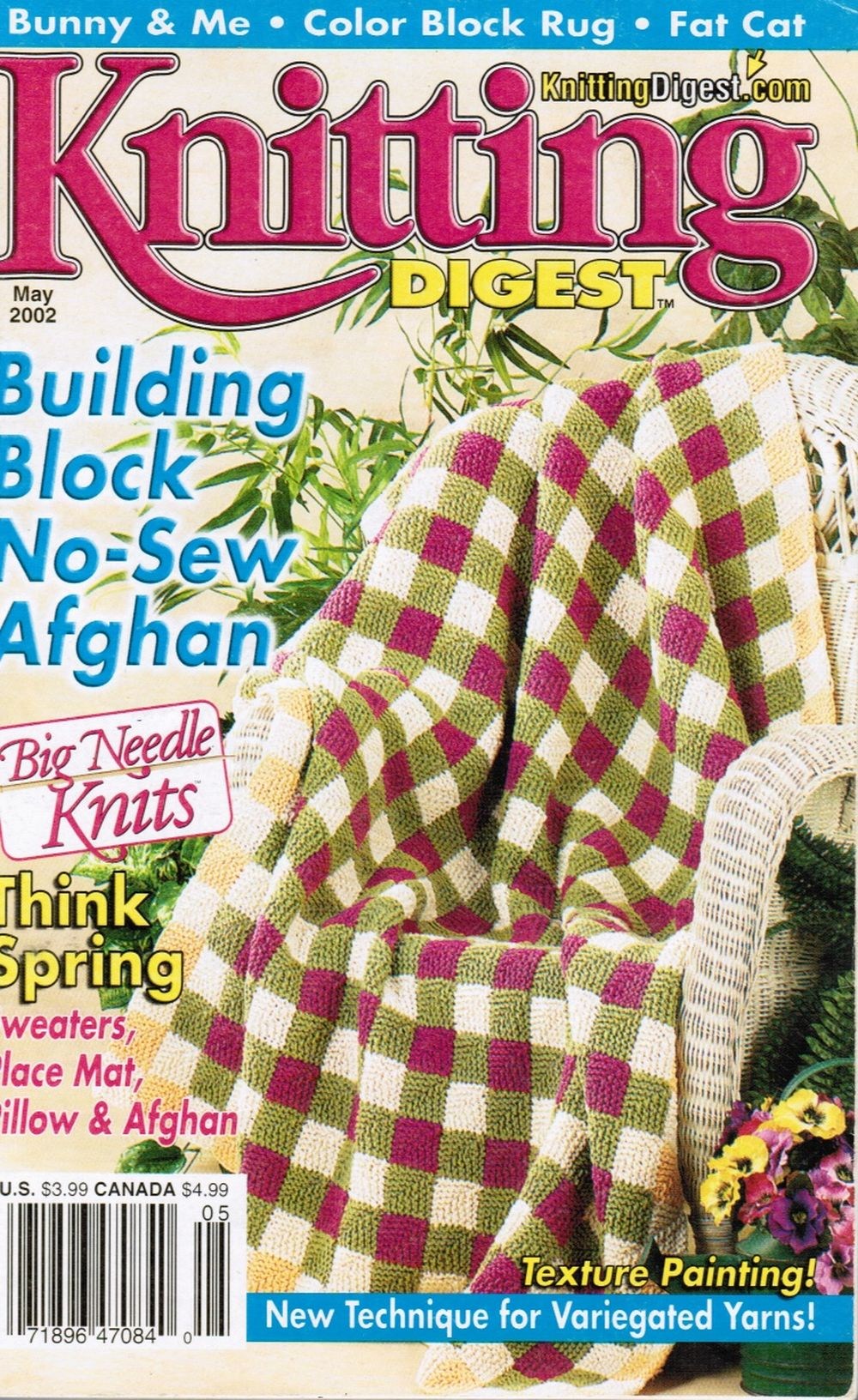 Image for Knitting Digest - May 2002