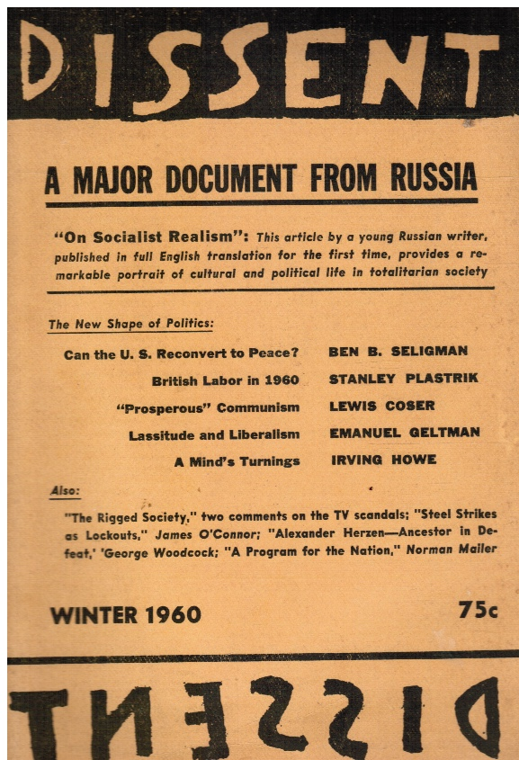 Image for Dissent, Winter 1960, Volume VII, Number 1