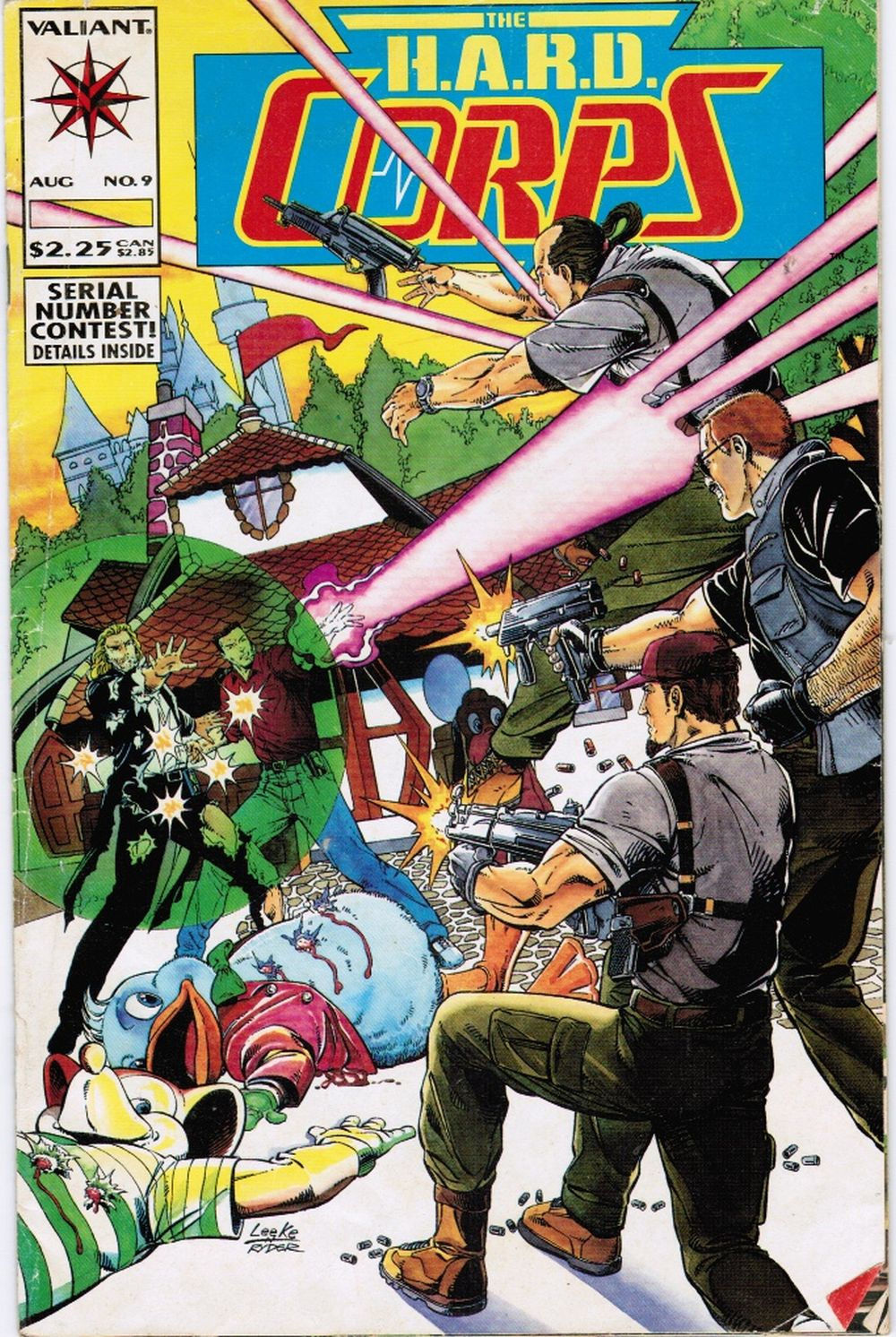 Image for H. A. R. D. Corps #9, August 1993  (Harbinger Active Resistance Division)