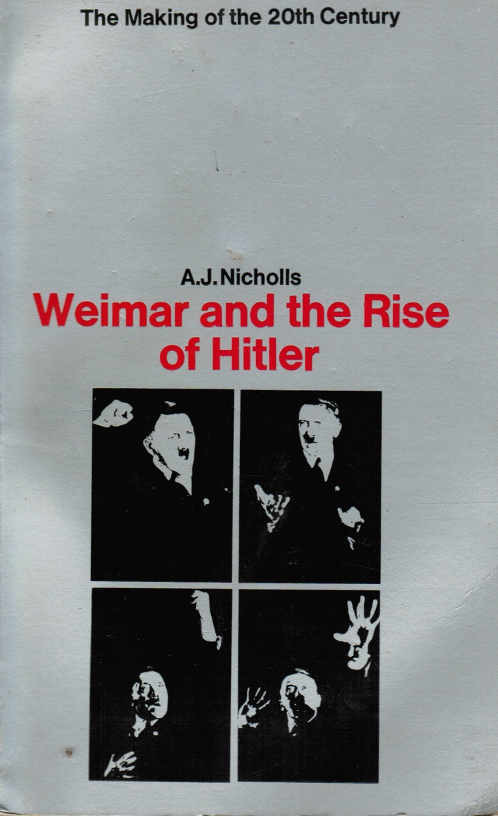 Image for Weimar and the Rise of Hilter