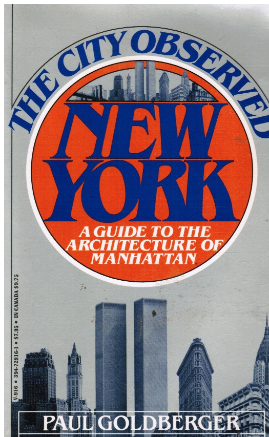 Image for City Observed, New York: a Guide to the Architecture of Manhattan