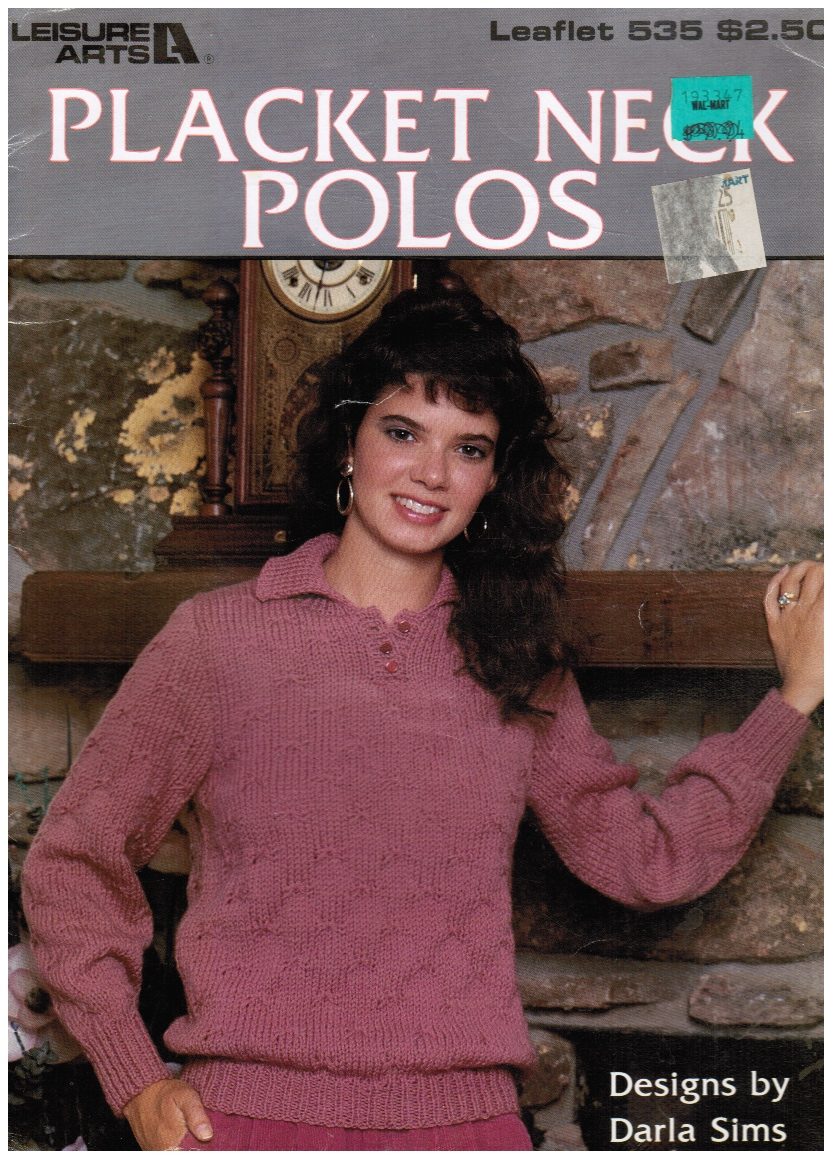 Image for PLACKET NECK POLOS   Leisure Arts