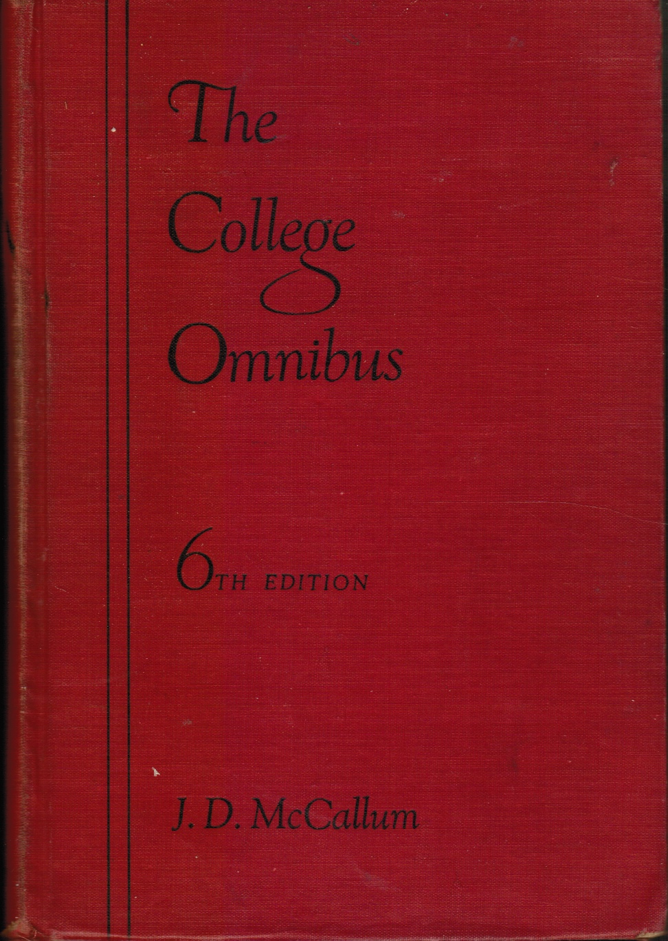 Image for The College Omnibus