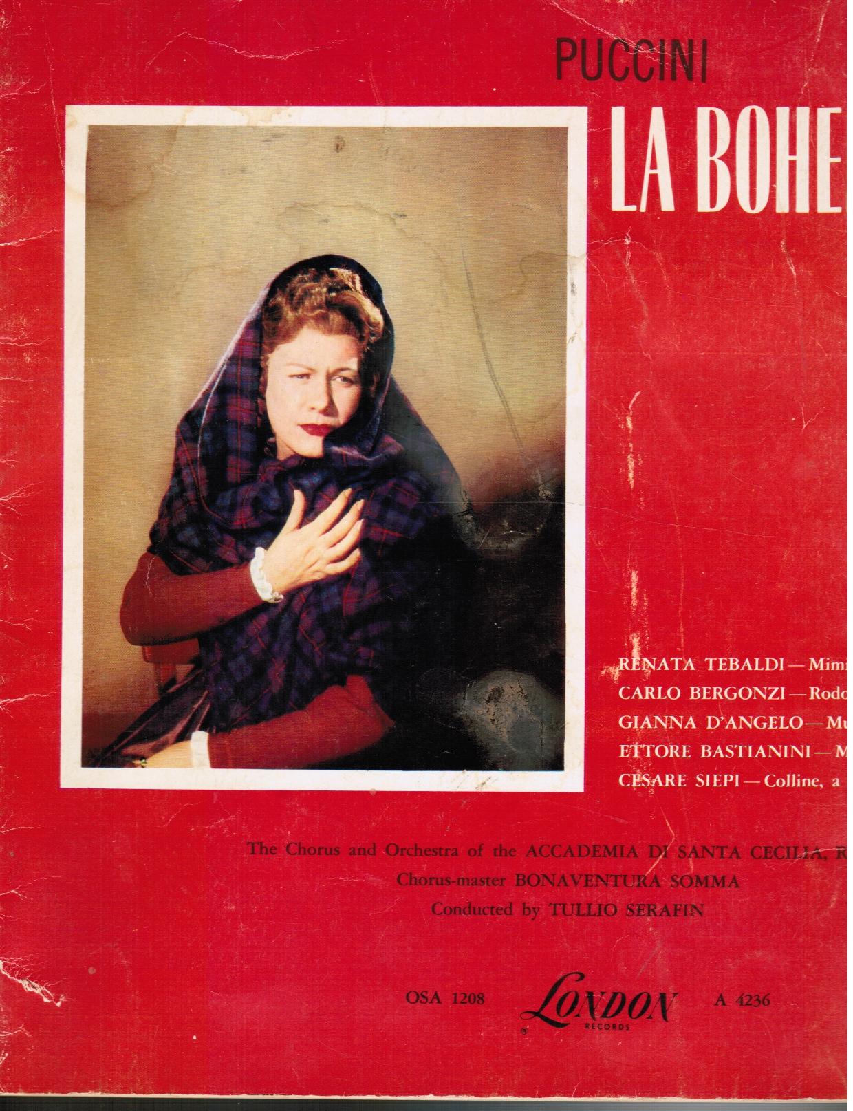 Puccini : La Boheme