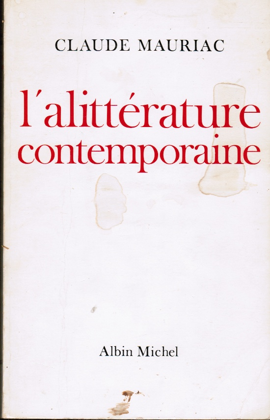 Image for Littérature à L'Allitérature