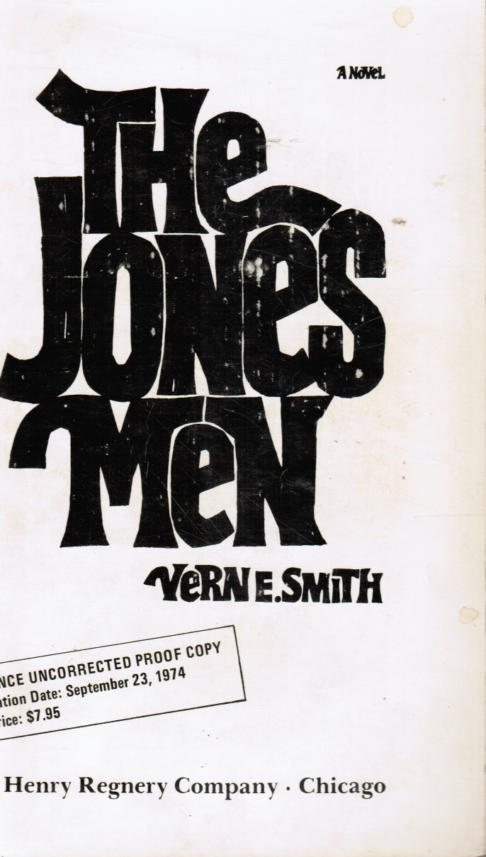 Image for The Jones Men (Advanced Uncorrected Prooof Copy)