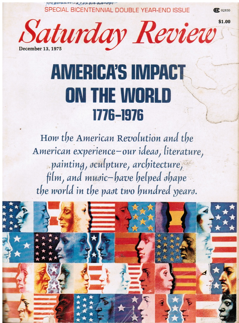 Image for Saturday Review: Americas Impact on the World, 1776-1976, December 13, 1975
