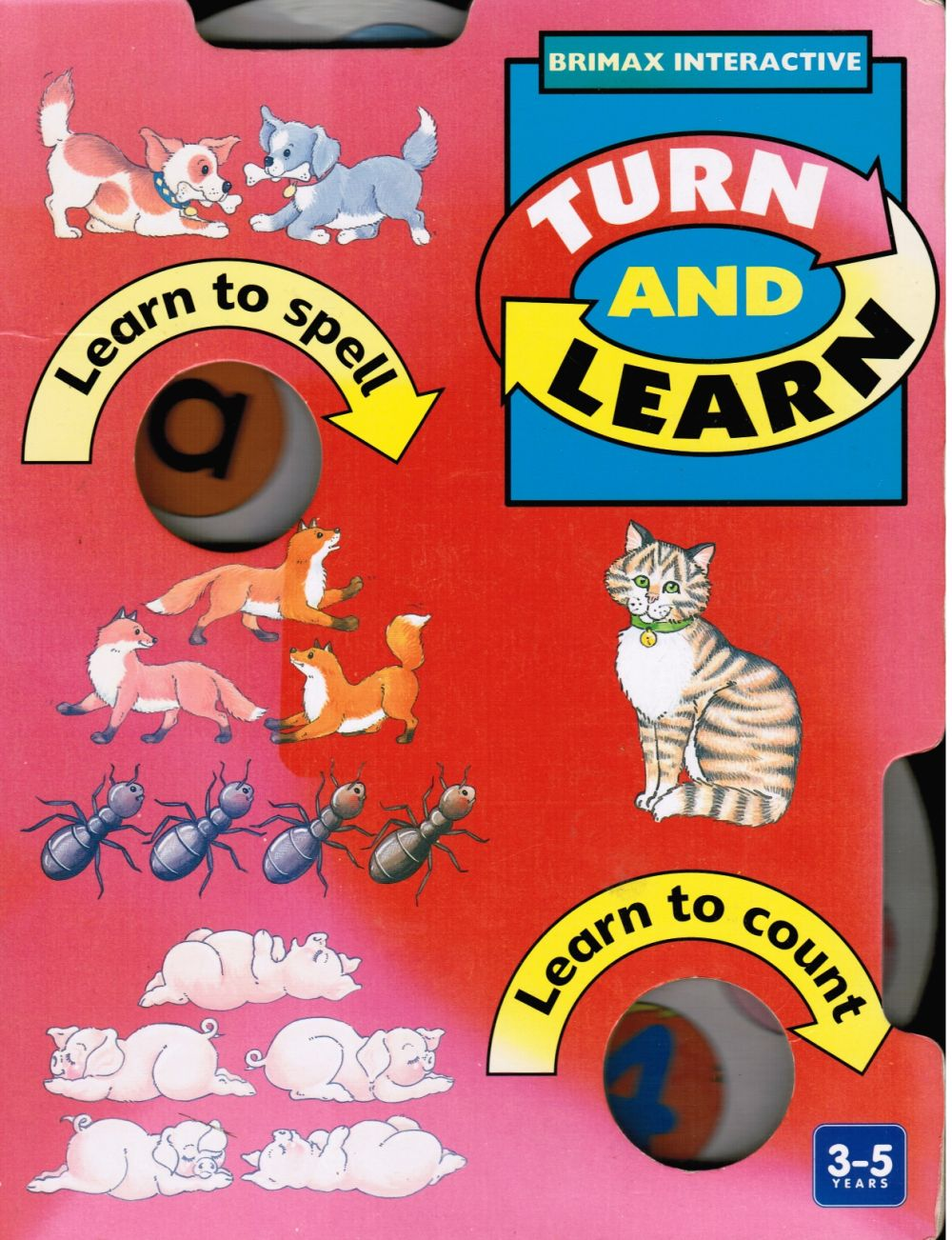 Image for Turn and Learn - Brimax Interactive