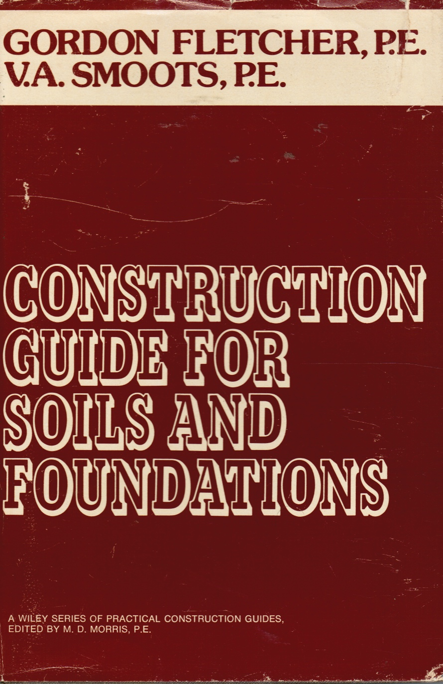 Image for Construction Guide for Soils and Foundations