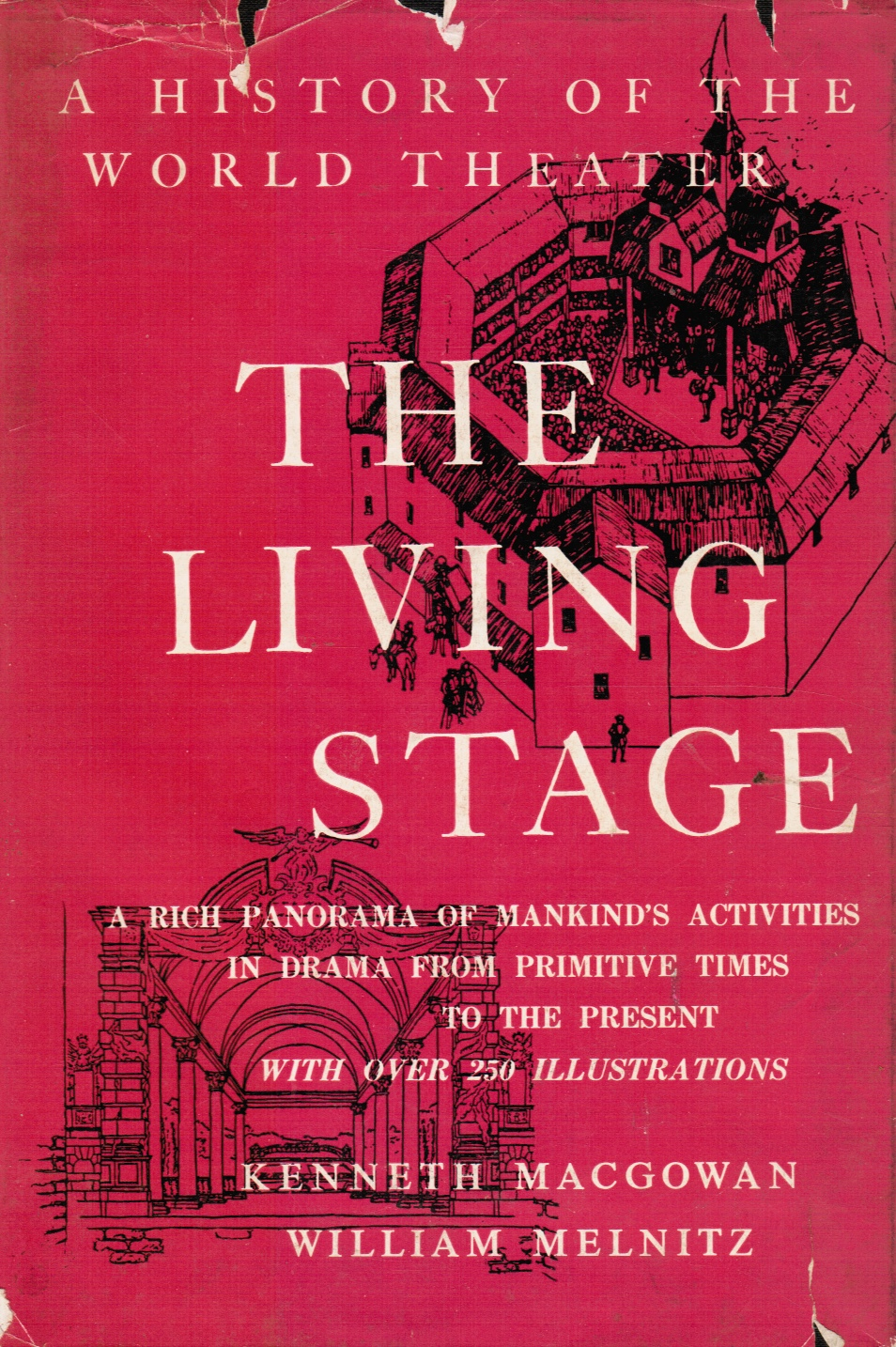 Image for The Living Stage. a History of the World Theater