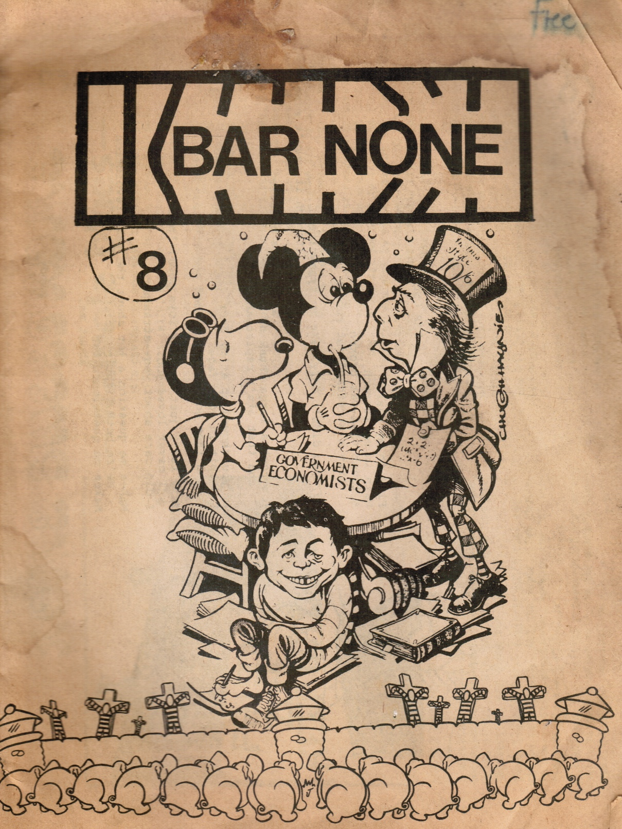 Image for Bar None #8 (Prison Rights Publication)