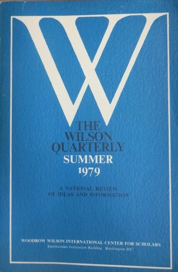 Image for The Wilson Quarterly Summer 1979