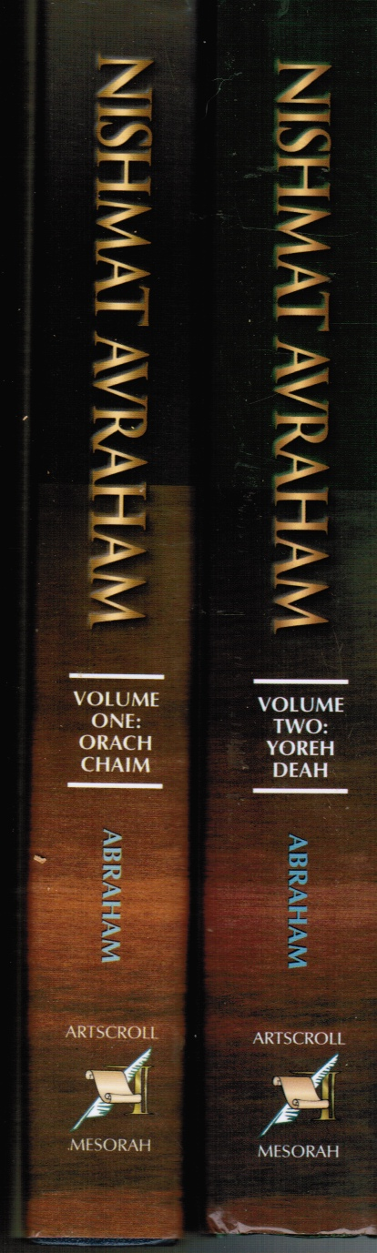 Image for Nishmat Avraham : Volumes 1 and 2 (Orach Chaim and Yoreh Deah)  Medical Halachah for Doctors, Nurses, Health-Care Personnel and Patients