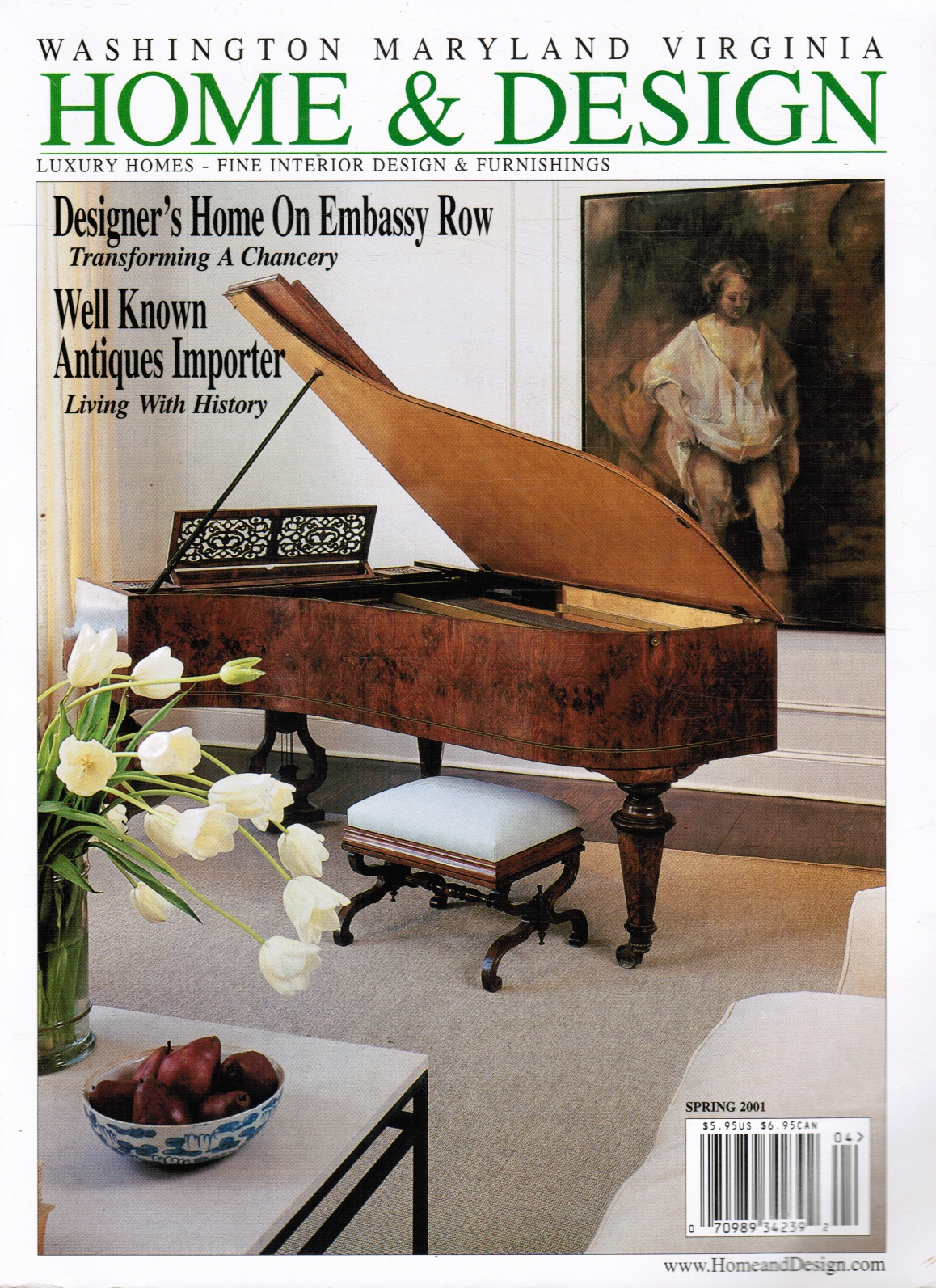 Image for Home & Design: Spring 2001 Luxury Homes - Fine Interior Design & Furnishings