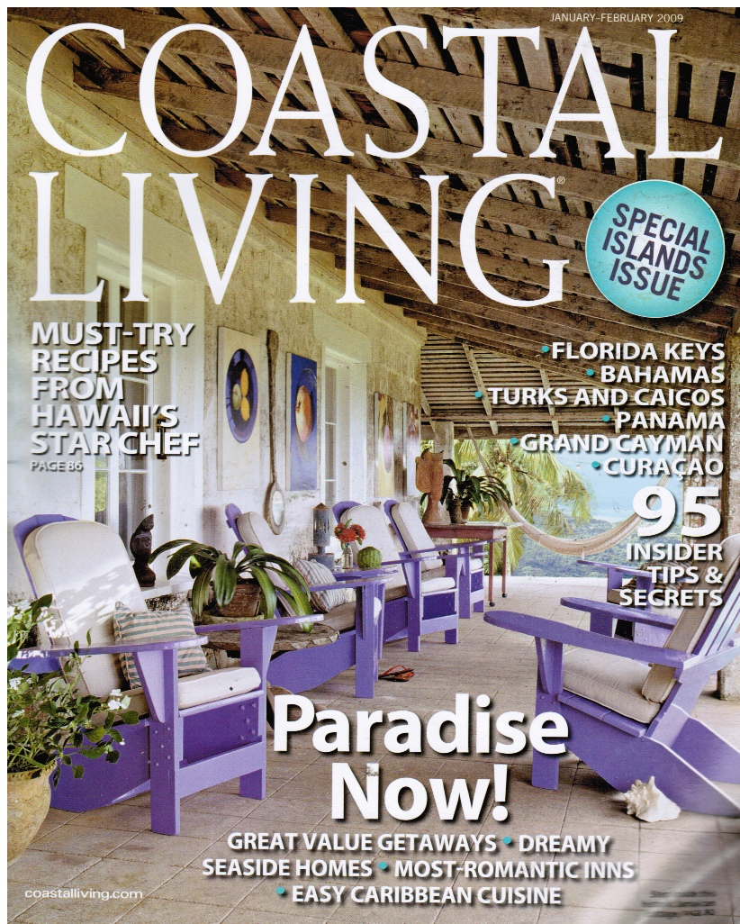 Image for Coastal Living Magazine: January/february 2009 Special Islands Issue