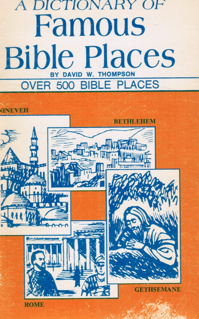 Image for A Dictionary of famous Bible Places
