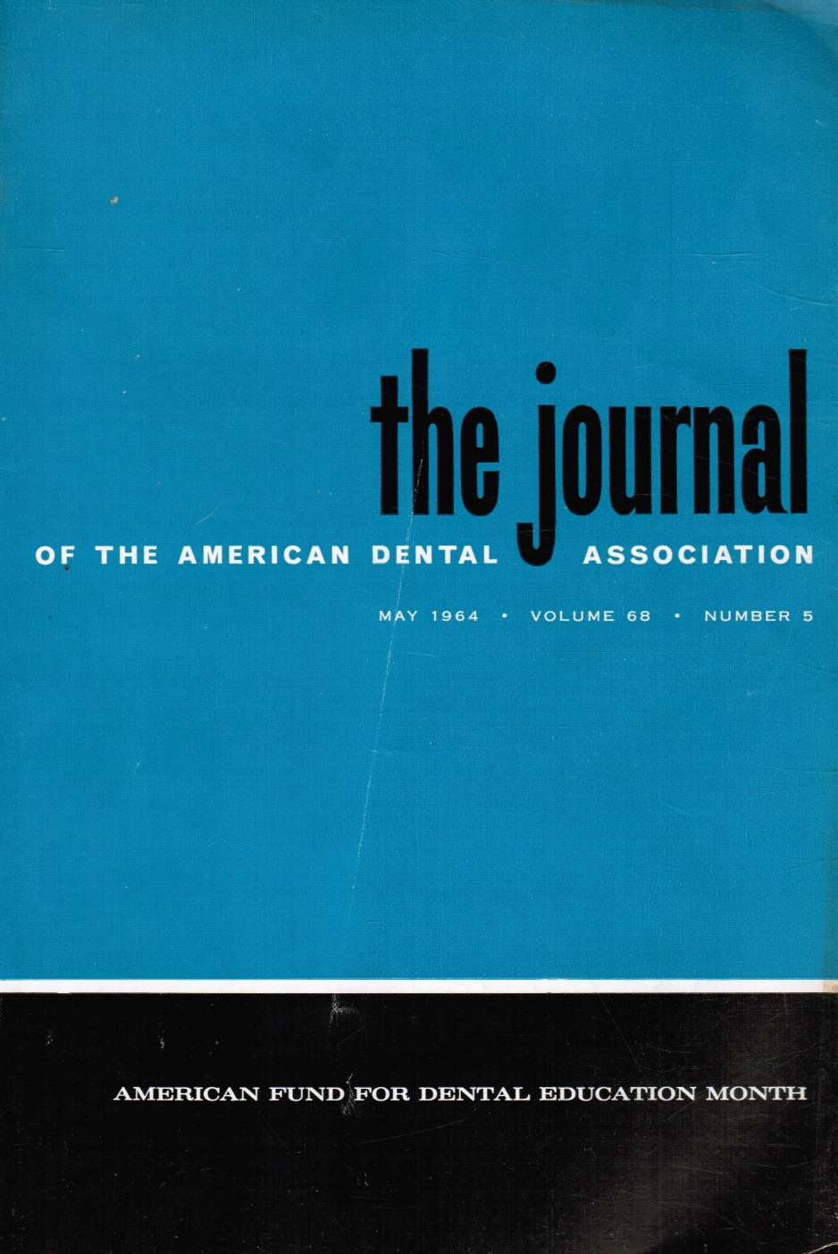 Image for The Journal of the American Dental Association: May 1964