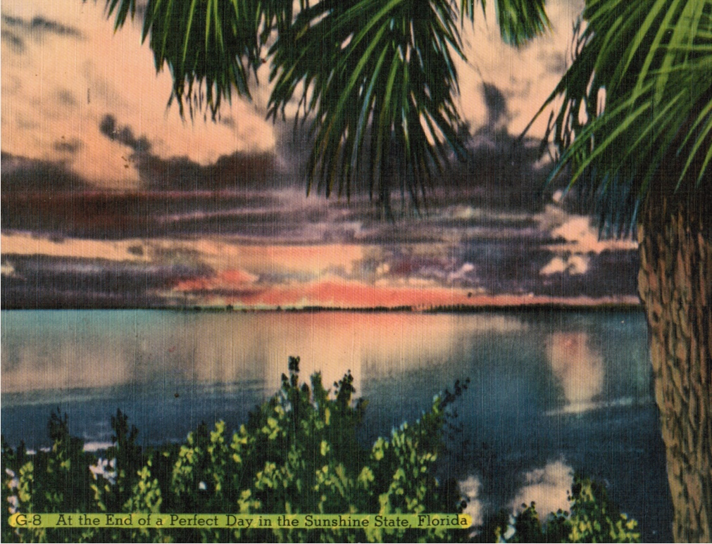 Image for At the End of a Perfect Day in the Sunshine State, Florida